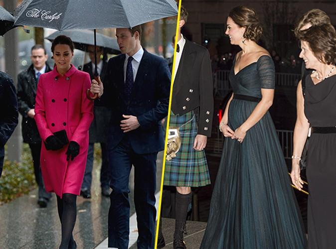 Photos : Kate Middleton et prince William : recueillement sous la pluie avant de fêter l'anniversaire de l'université où ils se sont rencontrés !