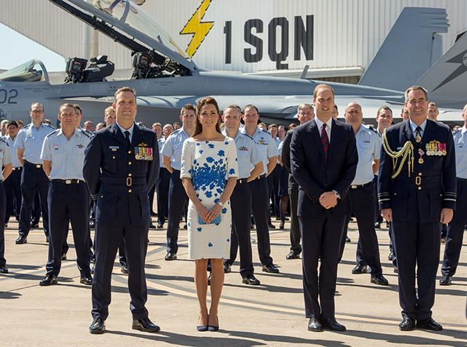 Kate Middleton et le Prince William à Brisbane le 19 avril 2014