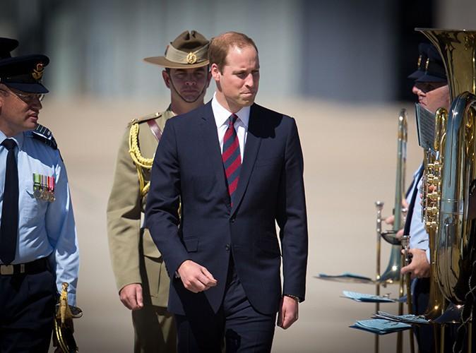 Le Prince William à Brisbane le 19 avril 2014