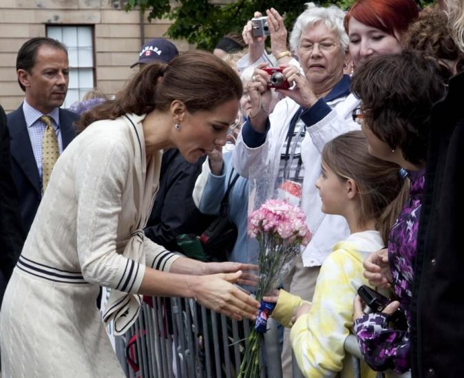 Elle a des fans très jeunes !