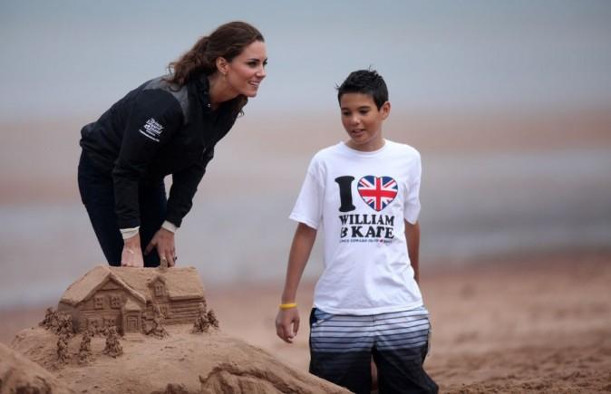 Parfois Kate s'intéresse aux autres...