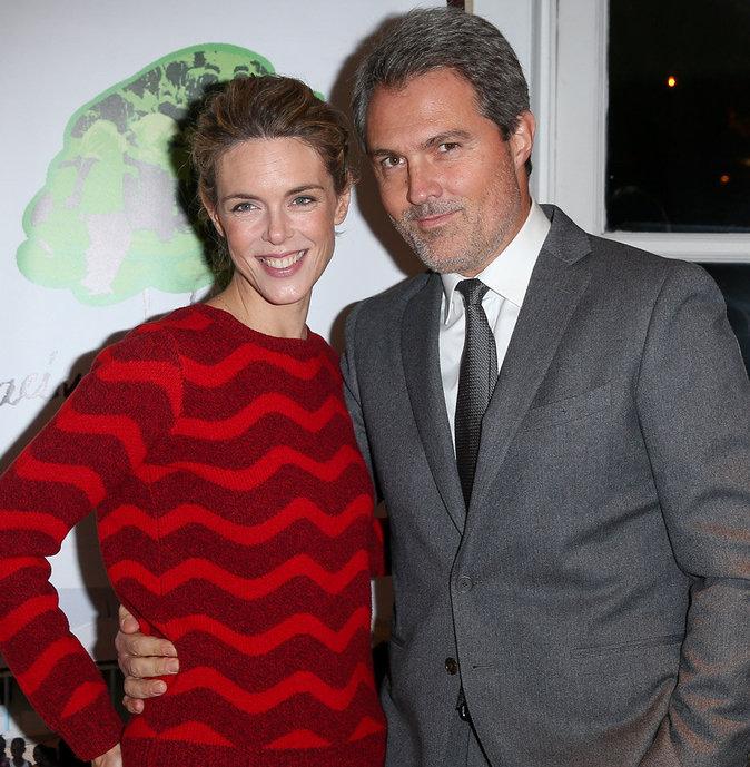 Julie Andrieux et son époux Stephane Delajoux ont eu une petite Gaïa en décembre 2015