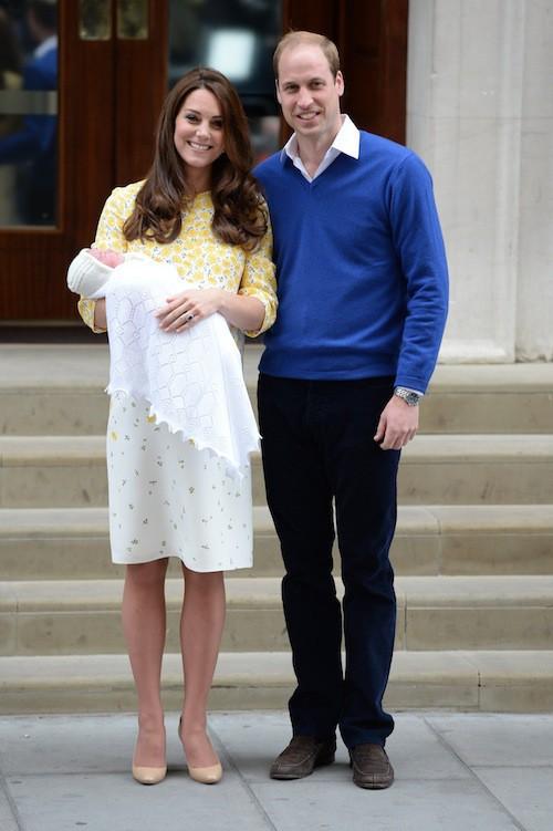 Photos : Royal Baby 2 : Kate Middleton et le prince William présentent leur petite fille !