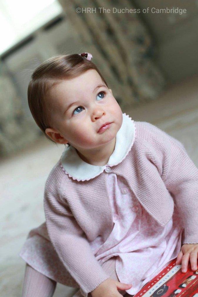 La Princesse Charlotte fêtera ses 1 an ce lundi 2 mai