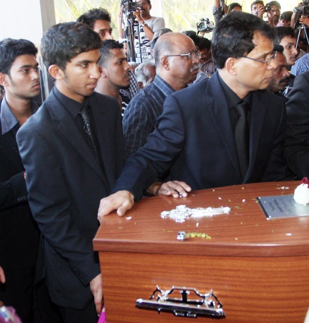 Les obsèques de Jacintha Saldanha célébrées en Inde le 17 décembre 2012
