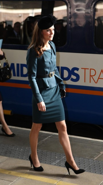 Kate Middleton à Londres, le 8 mars 2012.