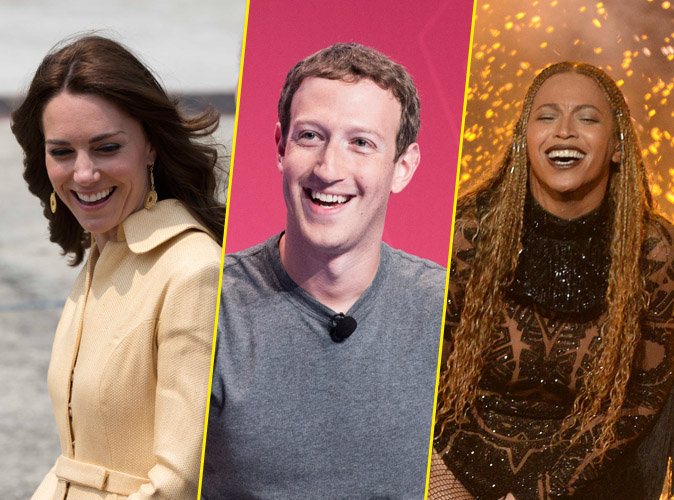 Photos : Kate Middleton, Mark Zuckerberg, Beyoncé : puissants mais si cool !