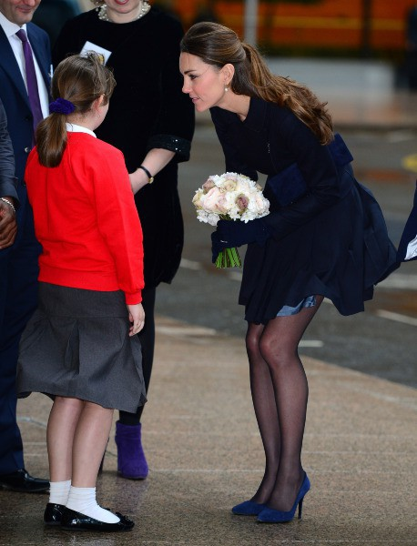 Kate Middleton à Londres, le 20 novembre 2013.