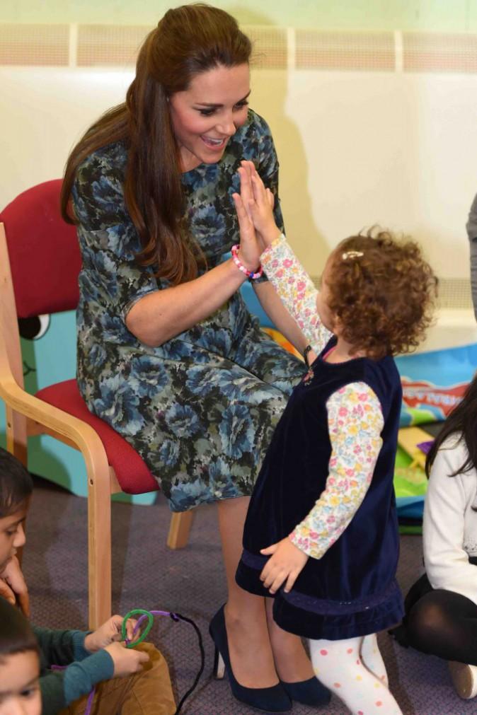Kate Middleton : petits et grands, tout le monde est sous son charme !