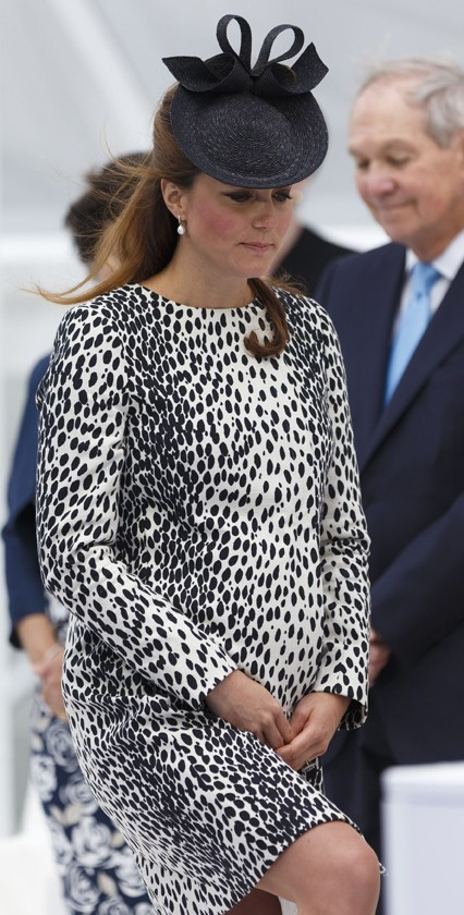 Kate Middleton à l'inauguration du Royal Princess le 13 juin 2013 à Southampton