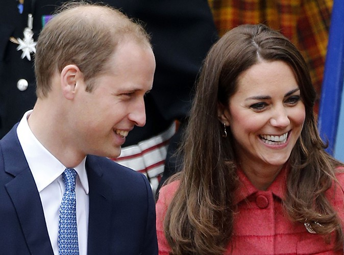 Le Prince William et Kate Middleton à Crieff le 29 mai 2014