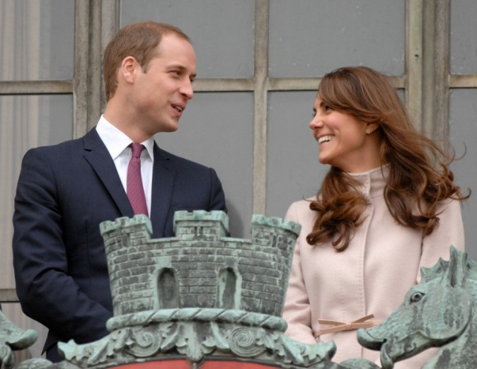 Kate Middleton et le prince William à Cambridge, le 28 novembre 2012.