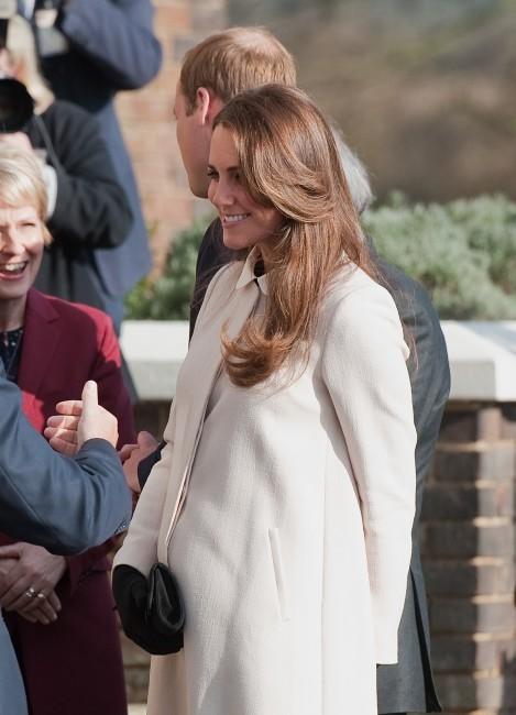 Kate Middleton à Saunderton au Royaume-Uni, le 19 mars 2013.