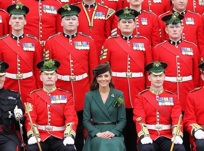 Photos : Kate Middleton célèbre la St Patrick, en 2012