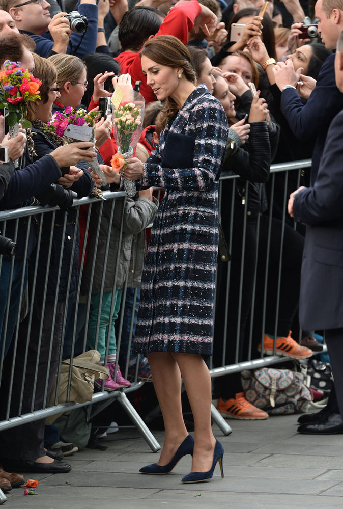 Kate et William à Manchester le 14 octobre 2016