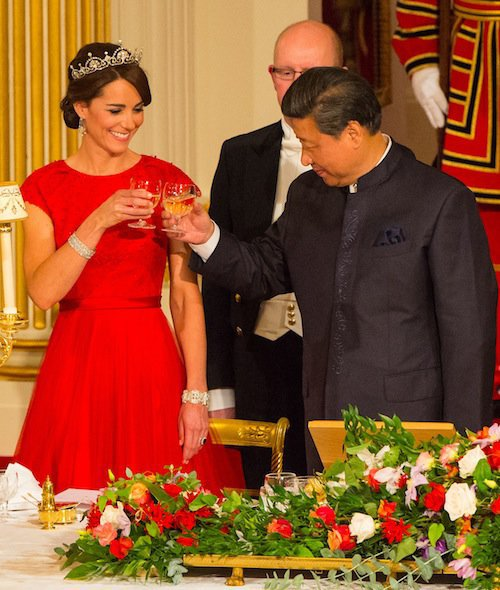 Photos : Kate Middleton sort le grand jeu pour la Chine !