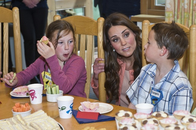 Kate Middleton, Winchester, 29 avril 2013.