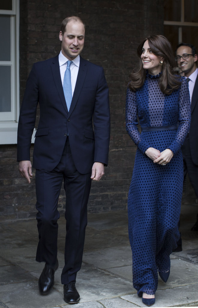 Le prince William et sa femme Kate Middleton