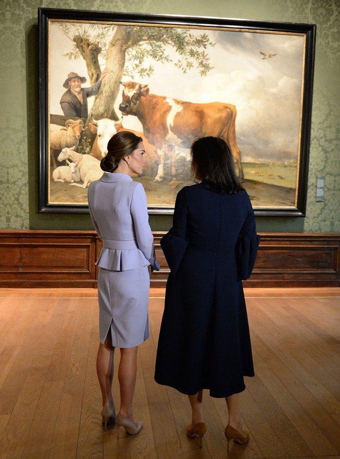 Kate Middleton à La Haye (Pays-Bas) le 11 octobre 2016