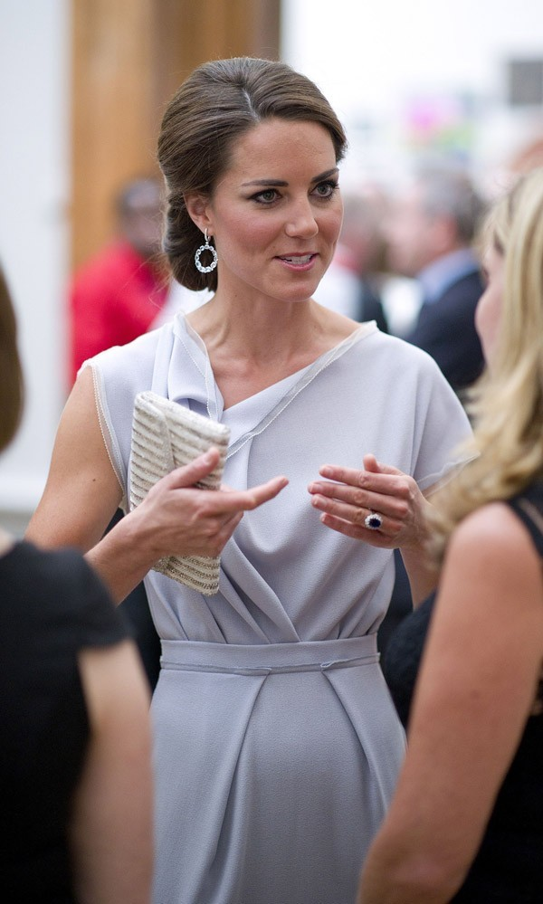Kate Middleton le 30 juillet 2012 à Londres