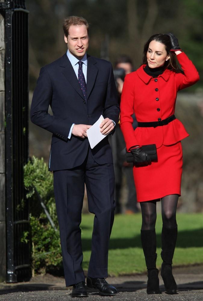 Lors de sa visite en Ecosse, Kate affichait déjà des jambes très minces