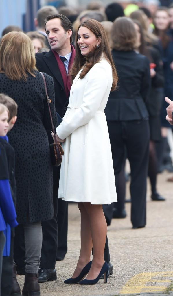 Kate Middleton le 12 février 2015