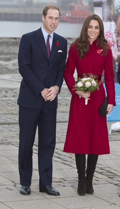 Kate et William ne visite aujour'hui au Danemark !