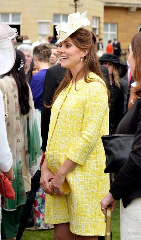 Kate Middleton lors de la garden-party de la reine à Londres, le 22 mai 2013.