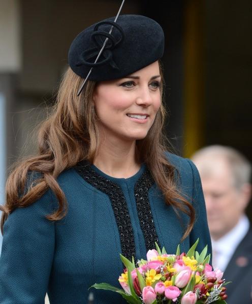 Kate Middleton lors des 150 ans du métro londonien, le 20 mars 2013.