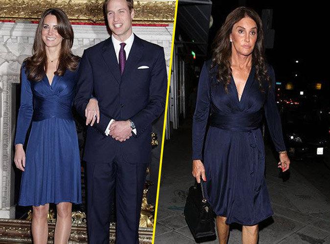 Kate Middleton VS Caitlyn Jenner : qui porte le mieux la robe bleue ?