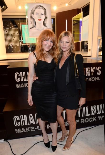 Kate Moss et Charlotte Tilbury le 17 juin 2013 à Londres