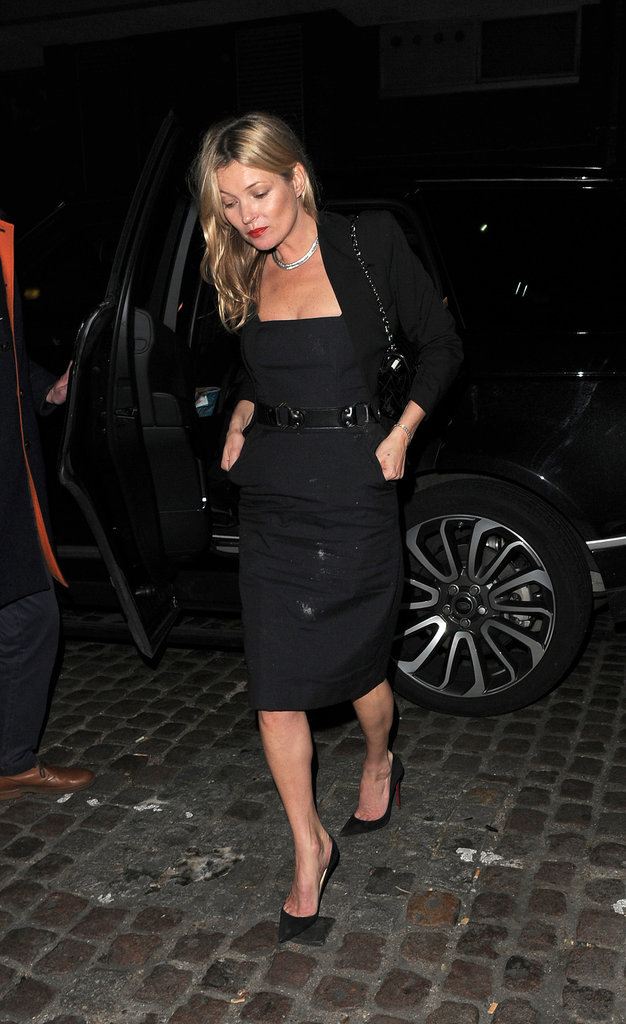 Kate Moss le 9 octobre 2015