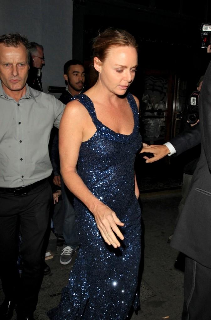 Stella McCartney lors de sa soirée d'anniversaire à Londres, le 13 septembre 2011.