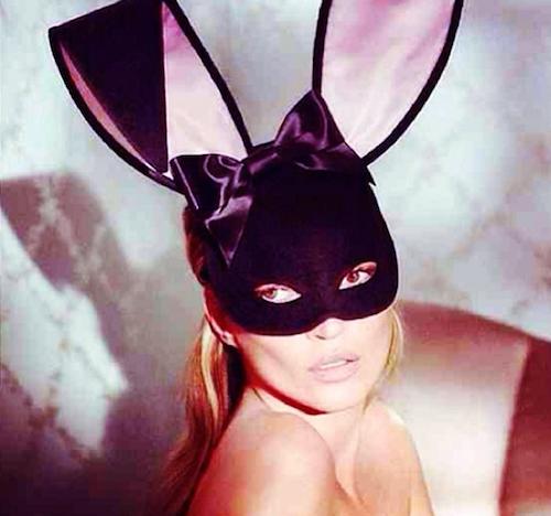 Photos : Kate Moss : découvrez-la en lapin sexy sur la Une de Playboy enfin dévoilée !