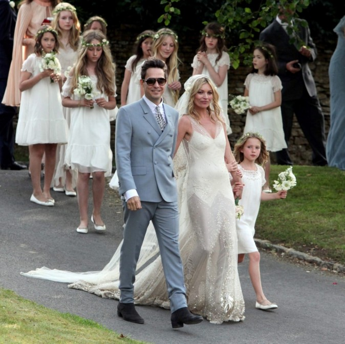 Kate Moss la plus belle mariée de l'année ?