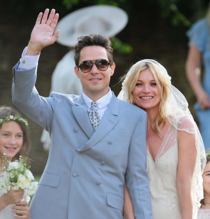 Le mariage de Kate Moss ne pouvait qu'être réussi !