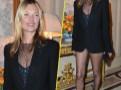 Photos : Kate Moss : elle sort avec trois fois rien sur le dos !