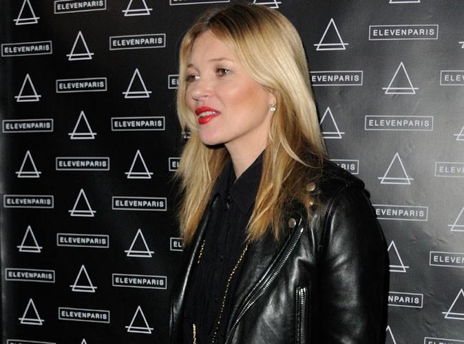 Kate Moss : jolie poupée rock qui défie le temps à la soirée anniversaire Eleven Paris !