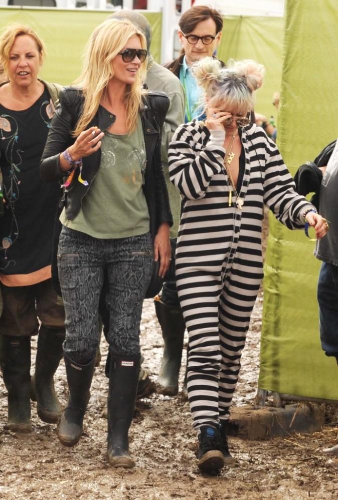 Festival de la boue 2011. Kate y était avec la femme de Beetlejuice...