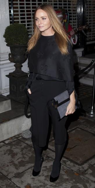 Stella McCartney lors de la soirée d'illumination de la boutique Stella McCartney à Londres, le 29 novembre 2011.