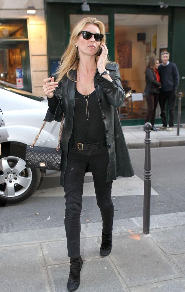 Kate Moss, toujours aussi rock et élégante...