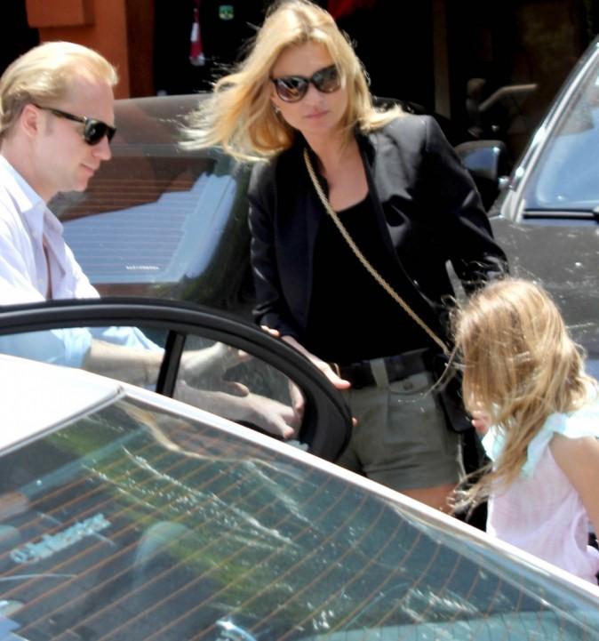 Voyage en famille pour Kate et sa fille