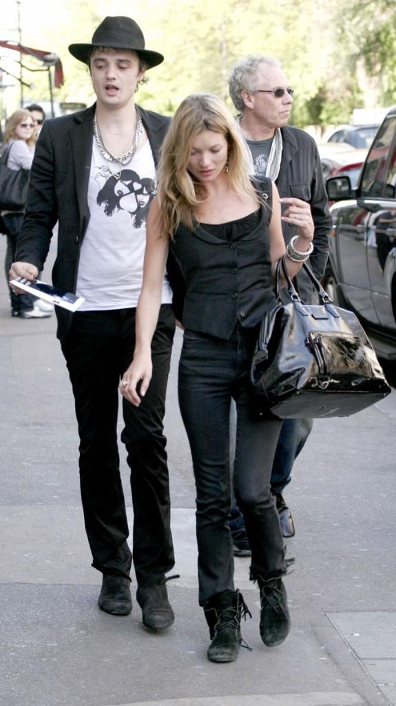 Photos : Kate Moss est sortie avec Pete Doherty entre 2005 et 2007