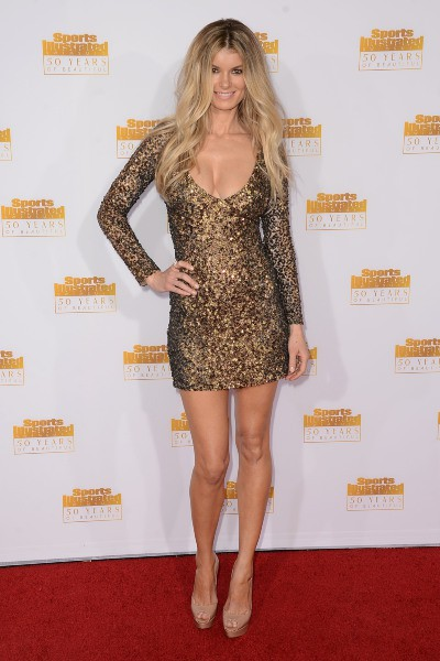 Marisa Miller lors des 50 ans du magazine Sports Illustrated Swimsuit à Los Angeles, le 14 janvier 2014.