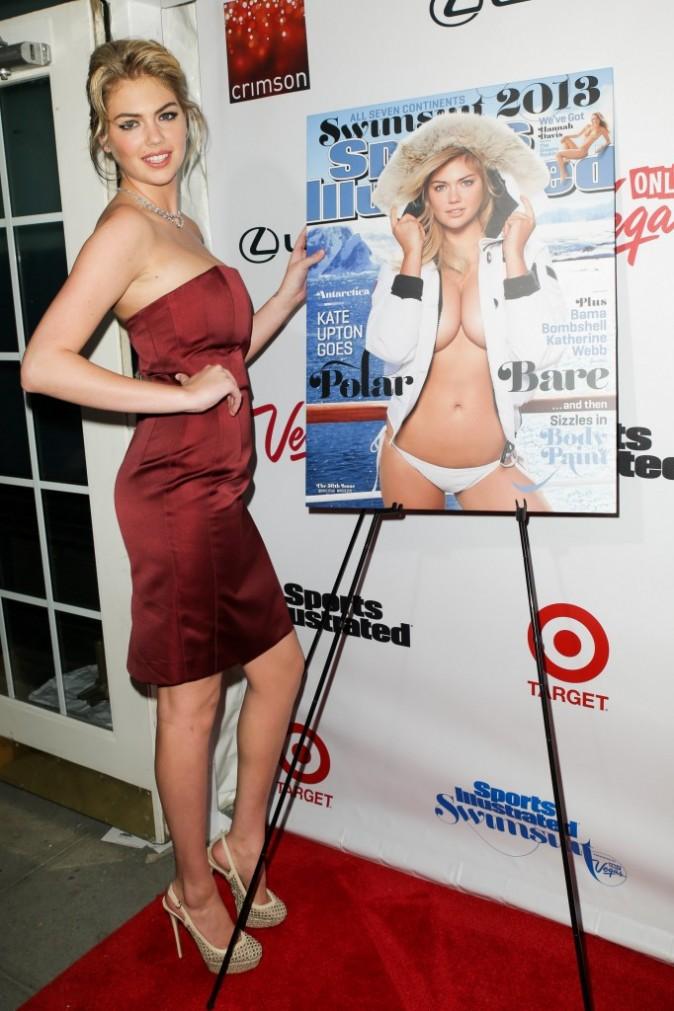 Kate Upton lors de la soirée de lancement du nouveau numéro de Sports Illustrated, le 12 février 2013.