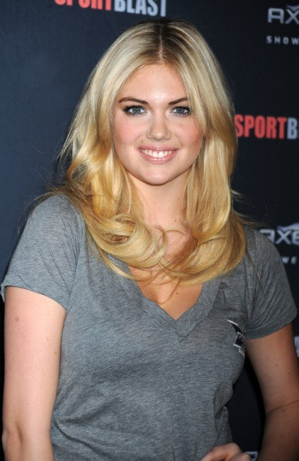 Kate Upton lors du lancement du Sport Blast à New York, le 25 avril 2012.