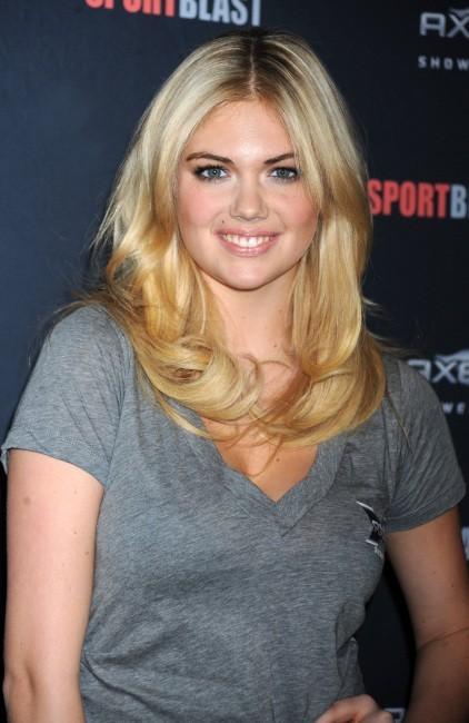 Kate Upton lors du lancement du Sport Blast à New York, le 25 avril 2012.