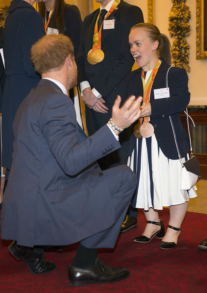 Kate et William de Cambridge et le Prince Harry