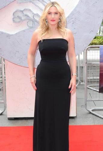 Kate Winslet à Londres le 30 mars 2014