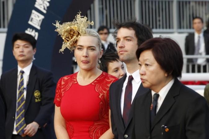 Kate Winslet le 9 décembre 2012 à Hong Kong